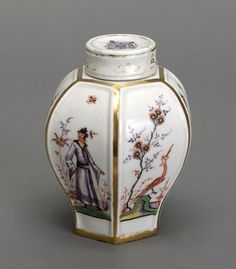Tea Caddy, ca. 1725, Meissen