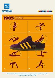 c8ef28ad00aeae Adidas Trimm Star archive poster Adidas Og