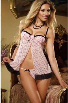 04892446a4353 Online Adult Store For Women - Pink Passion Babydoll Wholesale Lingerie