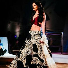 What do you think about this contemporary lehenga from Monisha Jaisingh?