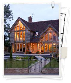 Oak Frame Houses and Oak Framed Buildings, Buildings Design