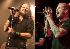 Jonathan Davis of Korn & Corey Taylor of Slipknot (All Hail Metal)