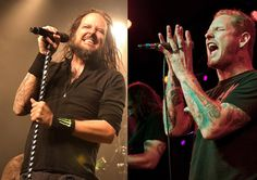 Jonathan Davis of Korn & Corey Taylor of Slipknot (All Hail Metal)
