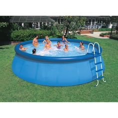 "Intex 18' x 48"" Easy Set Swimming Pool - Walmart.com"