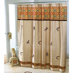 Southwest Design Shower Curtains Home Decorating Ideas with dimensions 1600 X 1600 Southwest Style Shower Curtains - A stall shower curtain is essentially Southwestern Shower Curtains, Southwestern Home Decor, Southwest Style, Luxury Shower Curtain, Tribal Decor, Western Decor, Kitchen Curtains, Fabric Shower Curtains, Bath Decor