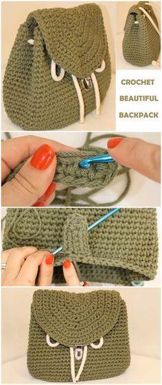 How to Crochet a Beautiful Bag