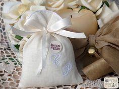 """Hand made and custom confetti's bags for weddings. Sacchetto porta Confetto per Matrimonio. Model: """"CAMPANELLINA"""""""