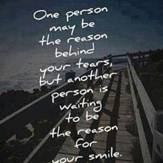 Another person is waiting to be the reason for your smile Over You Quotes, Need Quotes, Cute Quotes, Awesome Quotes, Quotes About Love And Relationships, Love And Marriage, Relationship Quotes, Meaningful Quotes, Inspirational Quotes