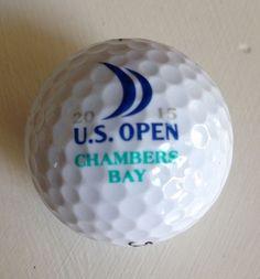 2015 US OPEN Logo Golf Ball Chambers Bay Titleist NEW USGA