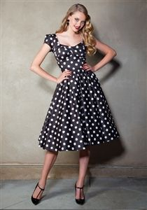 Stop Staring! Jitterbug Swing Dress