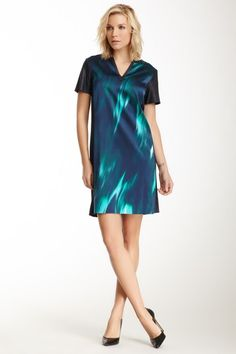 T Tahari Kellan Silk Blend Dress by Non Specific on @HauteLook