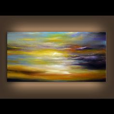 art abstract original painting seascape art abstract by mattsart