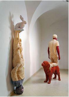 Willy Verginer-Italian Woodcarver Artist