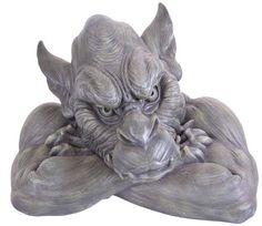 Kelkay Gargoyles and Ziblings are friendly guardians for your home. These collectables make great garden ornaments, or evocative book shelf decorations. Any fantasy fan would love this as a gift. Ornaments Design, Garden Ornaments, Tattoo Project, Garden Statues, Garden Sculptures, Unusual Gifts, Fantasy Creatures, Yard Art, Beautiful Creatures