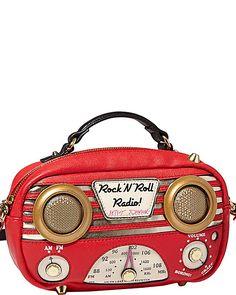 RADIO CROSSBODY RED accessories handbags day satchels