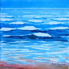 Summer Tide' #  acrylic on canvas  http://www.ritareadman-artist.tumblr.com