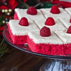 Red Velvet Sheet Cake - you'll easily impress your guests with this elegant and delicious red velvet sheet cake.