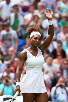 Serena Williams at Wimbledon 2013