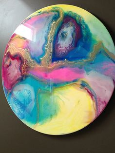Resin art by GabiAlleyneResinArt on Etsy