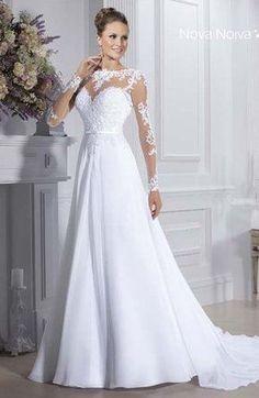 Resultado de imagem para vestido imperio de noiva