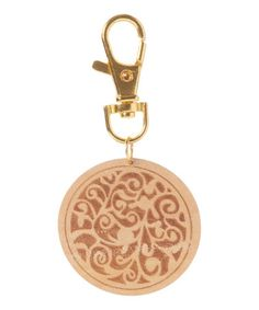Love this Gold Medallion Key Chain Aromatherapy Diffuser on #zulily! #zulilyfinds