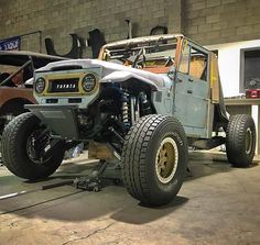 How about an FJ45 Prerunner? Very cool