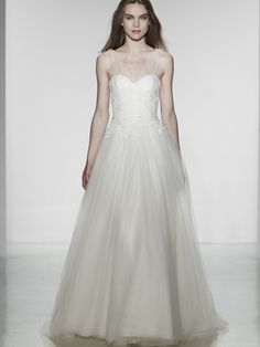 Christos Lavinia Size 4 Wedding Dress – OnceWed.com