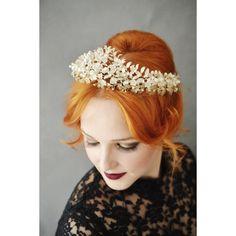 Big Antique Myrtle Bridal Crown Corsage in von PollyMcGearyAntiques