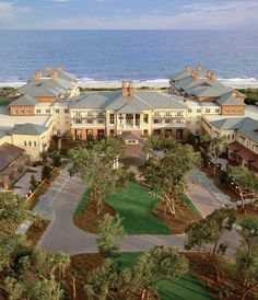 Top Resorts in the U.S. (#3) - Conde Nast Traveler Kiawah Resort, South Carolina #Travel #Golf