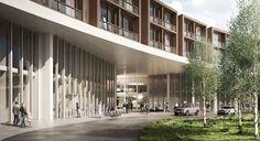 Herzog & De Meuron / Vilhelm Lauritzen Arkitekter /  The Nyt Hospital, Nordsjælland, Hillerød