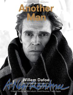 Willem Dafoe Covers AnOther Man Fall/Winter 2012 #ImaginaryBoyfriends