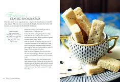 Recipe from the book, [ Tea at Fortnum & Mason ].