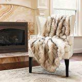 Best Home Fashion Faux Fur Throw - Lap Blanket - Champagne Fox - W x L - Throw) Bedroom Sets, Bedding Sets, Champagne Bedroom, Tahari Bedding, Living Room Throws, White Couches, Lap Blanket, Faux Fur Throw, Luxury Decor