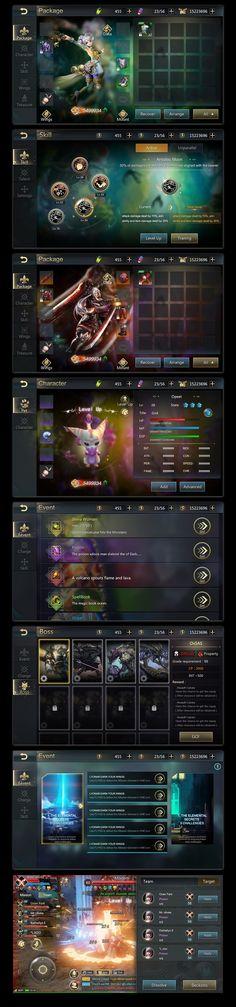 原创作品:Game UI(抽空练习)