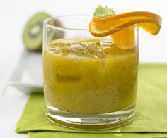 Rezept: Mango-Smoothie mit Kiwi und Ingwer