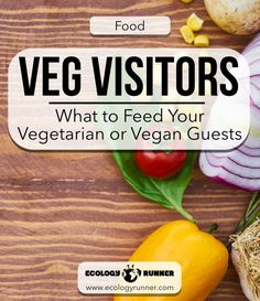 Veg Visitors: What to Feed Vegetarian or Vegan Guests: If you're hosting a vegan for the holidays or simply trying to incorporate more plant-dishes into your meals, we've got you covered. There are many easy veg options you can add to your menu seamlessly.