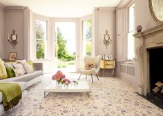 Sophie Conran for Axminster Carpets - Helping Hands in Baking Cakes Living Room Carpet, Living Room Grey, Living Room Interior, Living Area, Living Rooms, Affordable Carpet, Axminster Carpets, Country House Interior, Dream Decor
