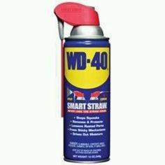 WD-40 has so many uses!