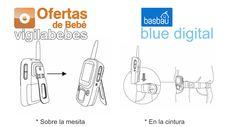 basbau bb201 blue digital vigilabebes instalacion receptor