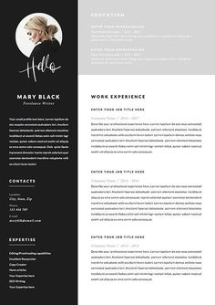 Resume Template and Cover Letter References Template for image 3 Cover Letter Template, Page Template, Letter Templates, Resume Templates, Cover Letter Design, Microsoft Word, Blog Planner, Cv Curriculum Vitae, Cv Inspiration