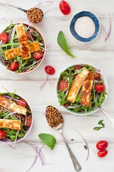 Vegetable salad, Roast vegetable salad and Roasted vegetable salad on ...