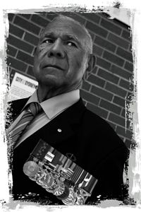 Portrait photo of Roy 'Zeke Mundine