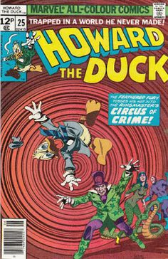 Howard the Duck #25, the Circus of Crime