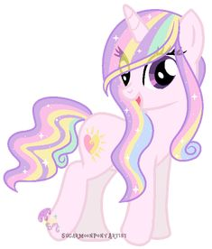 "This is a Cloud pony oc for Sky-Winds Type iredescent cloud Cloud Ponies c SugarMoonPonyArtist Base by :iconSoftyBases: ""MLP FIM(C)"