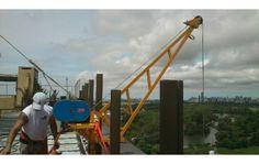 elevaciones con grúas edificios subir materiales 4957-3307