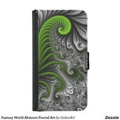 Fantasy World Abstract Fractal Art Wallet Phone Case For Samsung Galaxy S5