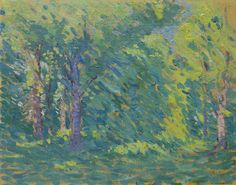 Lionel LeMoine Fitzgerald, 'Summer Forest', Canadian Group of Seven Emily Carr, Tom Thomson Paintings, Jackson, Group Of Seven, Canada Images, Landscape Paintings, Landscapes, Modern Artists, Canadian Artists