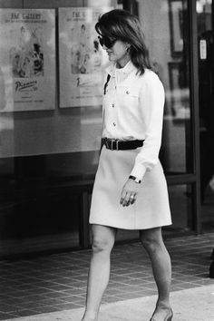 Jackie Kennedy, 1970.  She was always so classy and chic.  And beautiful too.