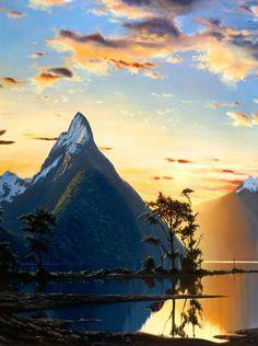 Milford Sound,New Zealand: