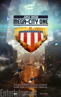 Judge Dredd to be turned into TV show - if it's anything like the 2012 movie,  this will be delicious!